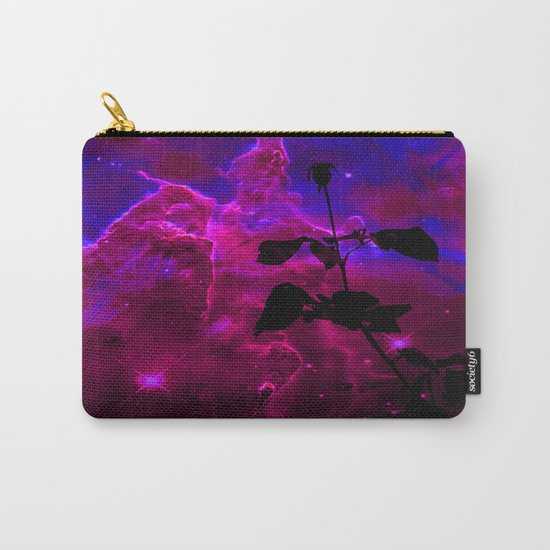 A Rose in Space Carry-All Pouch