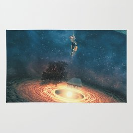 My dream house is in another galaxy Rug