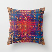 psych Throw Pillows featuring psych by mari3000