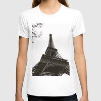 eiffel T-shirts featuring eiffel by samantha lawson