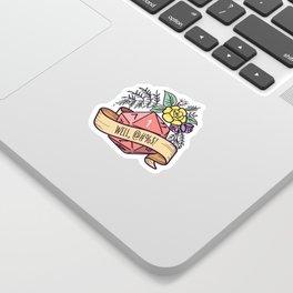 D20 Fail Sticker