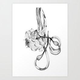 Garlic Art Print