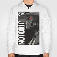 notorious Hoodies featuring Notorious by MORPHEUS