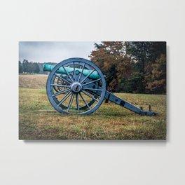 Bull Run Artillery Placement Manassas National Battlefield Park Virginia Color Metal Print