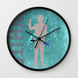 Jack White - Rock Wall 5 of 16 Wall Clock