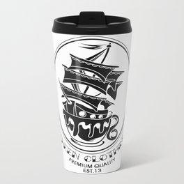 Fheen Ship Tea Cup  Metal Travel Mug