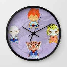 A Boy - A Girl - Thundercats Wall Clock