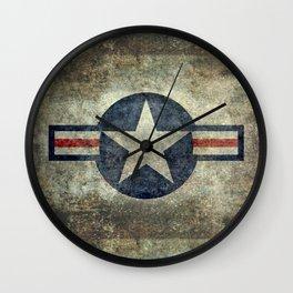 Vintage USAF Roundel #2 Wall Clock