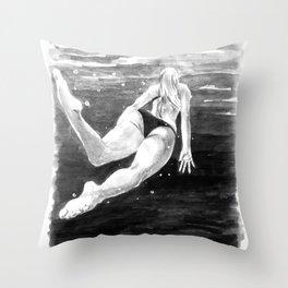 submerged Throw Pillow