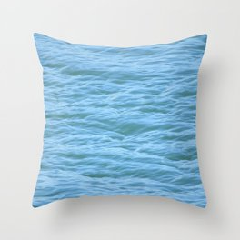 The Calm Before the Violence Throw Pillow