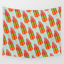Popsicle Pattern - Spicy Bomb Wall Tapestry