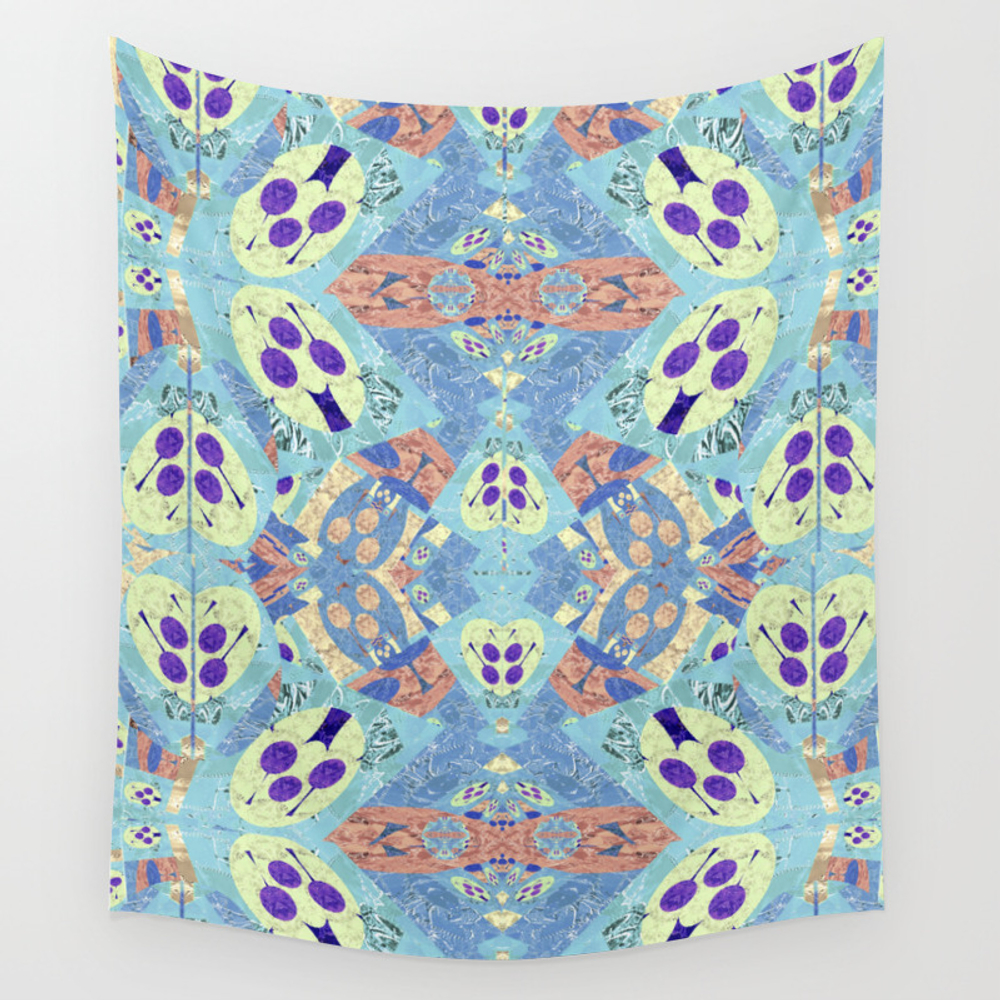 Abstract Vibrant Pastel Quilt 1 Hanging by Carlieamberpartridge TPS8369613