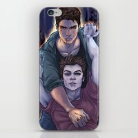 three of the possessed iPhone & iPod Skins featuring Possessed and Possession by Daunt