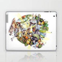 Des Plumes Dans Mon Assiette Laptop & iPad Skin