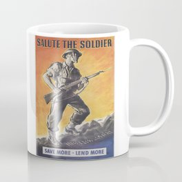 The Liberator, Reprint of wartime Poster Coffee Mug