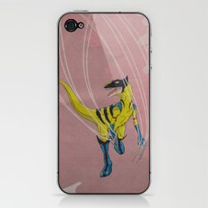 Wolveraptor - Superhero Dinosaurs Series iPhone & iPod Skin