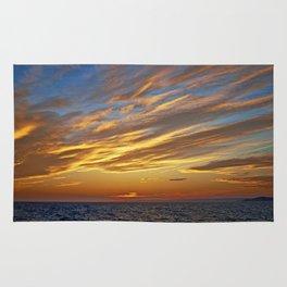 Sunset on the Horizon I Rug