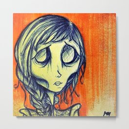 Starvation, Ghoul #1 Metal Print