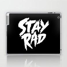 Stay Rad (on Black) Laptop & iPad Skin