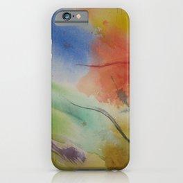 Watercolor Rhapsody iPhone Case