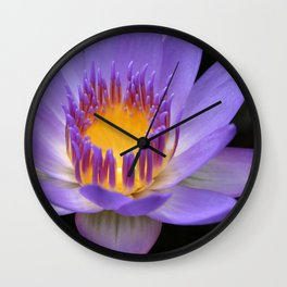 My Soul Dressed in Silence Wall Clock