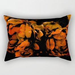 Autumn Fall Nature Prints - Surreal Flower Prints Home Decor Rectangular Pillow