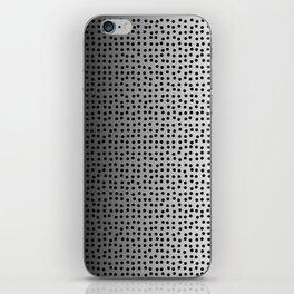 black dots iPhone Skin