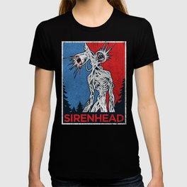 Vote Siren Head  vintage meme  T-shirt