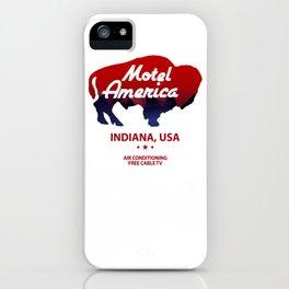 Motel America - American Gods iPhone Case