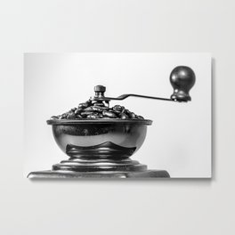 Coffee time/Kaffeezeit Metal Print