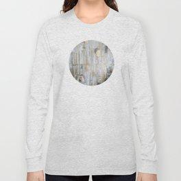 Metallic Abstract Long Sleeve T-shirt