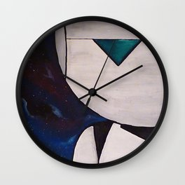 Brain the size of a planet Wall Clock