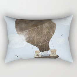 a teddy bear adventure Rectangular Pillow