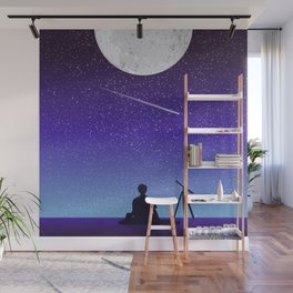 BTS Jimin Serendipity Landscape Wall Mural