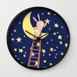 Starry Night Wall Clock