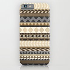 Dusty Aztec Pattern iPhone 6s Slim Case