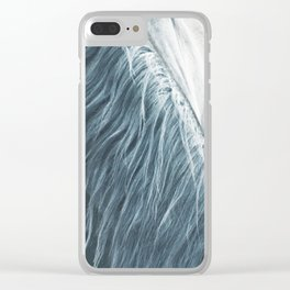 Horse mane photography, fine art print n°1, wild nature, still life, landscape, freedom Clear iPhone Case