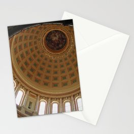 The rotunda of the Capitol building in Madison, Wisconsin Stationery Cards