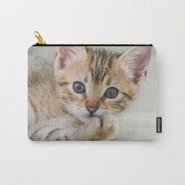 Smirking kitten Carry-All Pouch