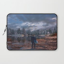 The coming of the dawn Laptop Sleeve