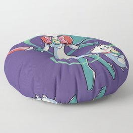 Bee and Puppycat Floor Pillow