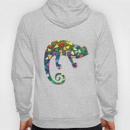 Animal Mosaic - The Chameleon Hoody
