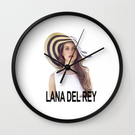 LDR Born To Die Wall Clock