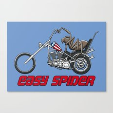 Easy Spider Canvas Print