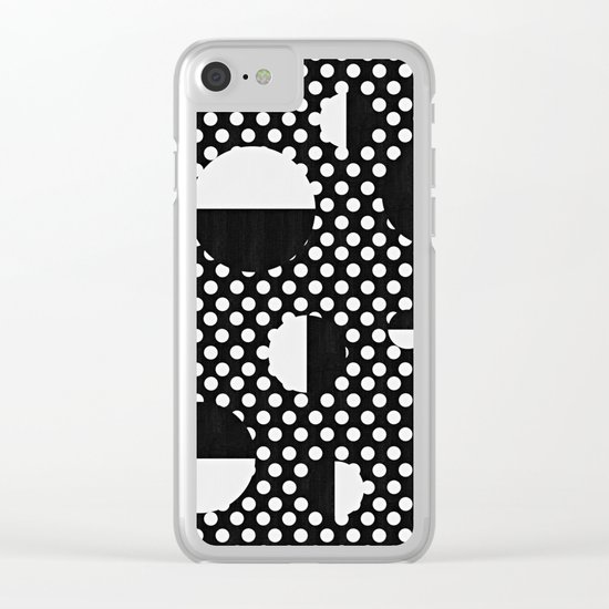It's Black, It's White Clear iPhone Case