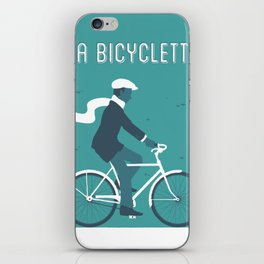 La Bicyclette iPhone Skin