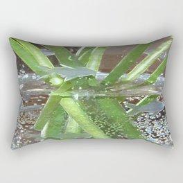 Crystal Swamp (Glass Series) Rectangular Pillow