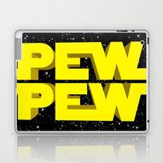 Pew Pew 3D Laptop & iPad Skin