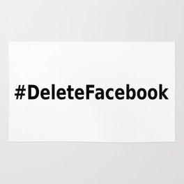 Delete Facebook Rug