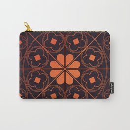 Burning Tudor Rose Carry-All Pouch